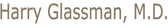 Harry A Glassman, MD Mobile Logo